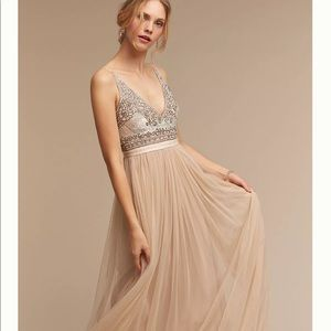 Anthro Needles & thread Brisa Dress